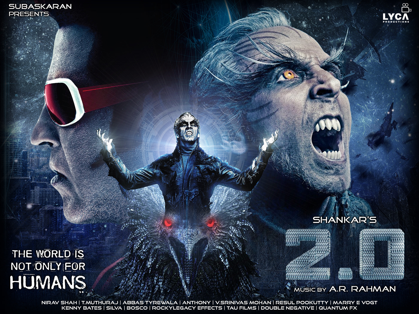 New Hindi Movei 2018 2019 Bolliwood: 2.0 Movie 3D Show 02-12-2018 Sunday « TamilFilm